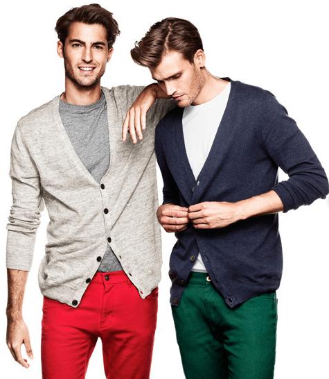 moda de macho - H&M