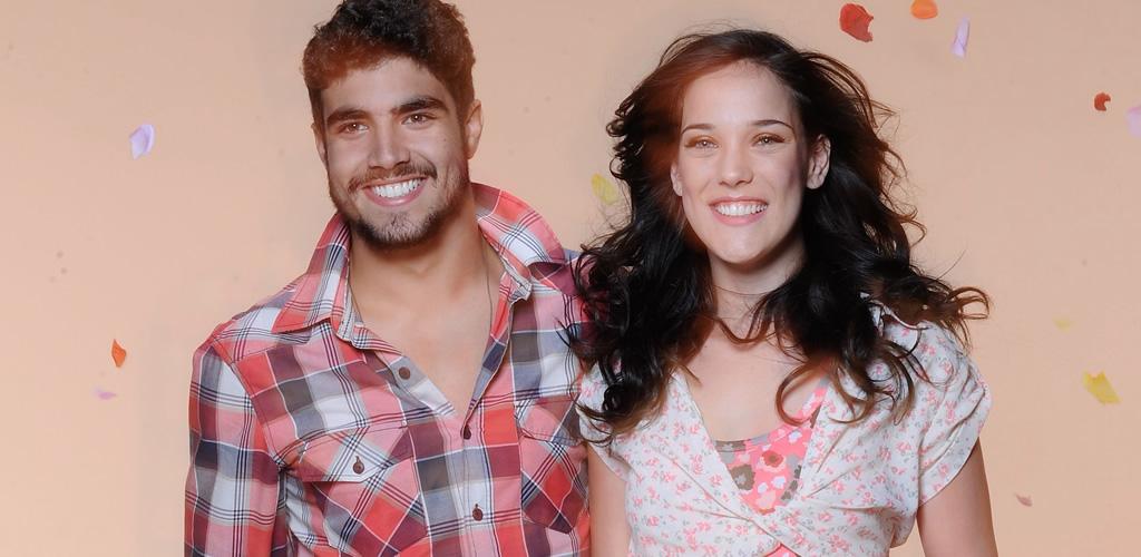 Caio Castro desfila para Hering e a mulherada