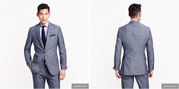 """Este look também é melhor para números maiores, e dá espaço suficiente para estar com as """"mãos nos bolsos""""."""