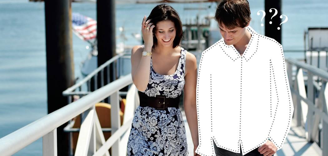 Como se vestir para Sair com a sua Mulher, Como se vestir para sair com a sua namorada