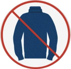Você não deve esconder seu pescoço, deve mostrá-lo. Ao escondê-lo, você parecerá mais baixo (e mais gordo).