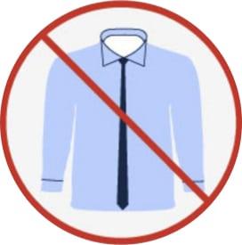 Gravatas skynny não te dão proporção com o tronco, e isto é fundamental.