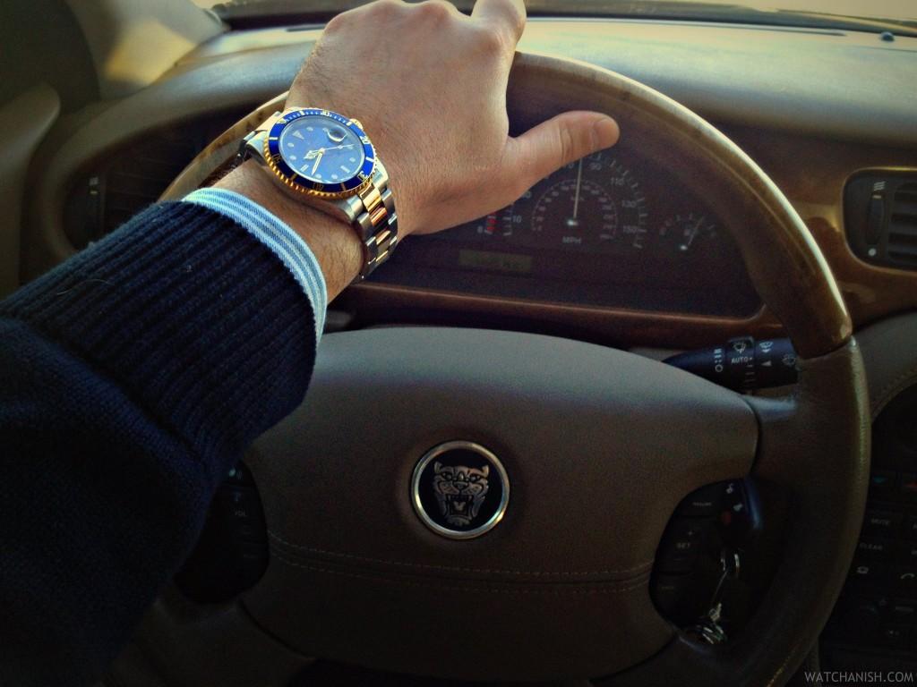 Esse Rolex Submariner é para vocês pirarem. Olha que lindo relógio.