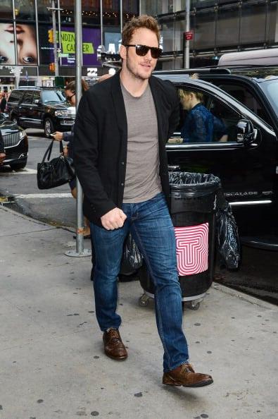 Celebrity Sightings In New York City - July 30, 2014
