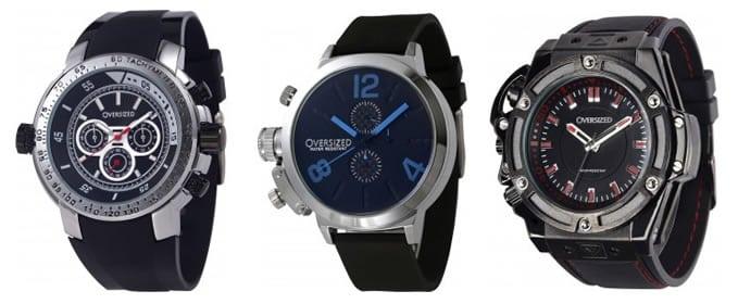Relógios Grandes para Homens, Relógios Oversized, Relógios Extra Grandes, Moda para Macho