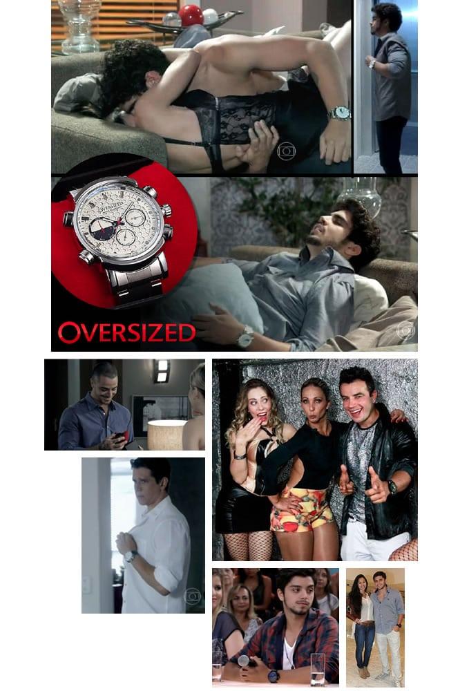 Tendência Relógios Grandes, Relógios famosos, Relógio para Homens, Relógios Oversized, Relógios Extra Grandes, Moda para Macho