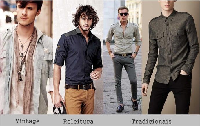 estilo-militar-camisas