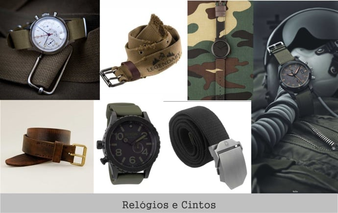 estilo-militar-cintos-relogios