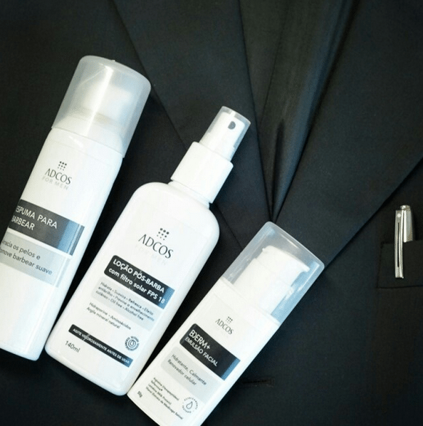 Cosméticos Masculinos ADCOS Produtos De Beleza Cuidados Com A Pele