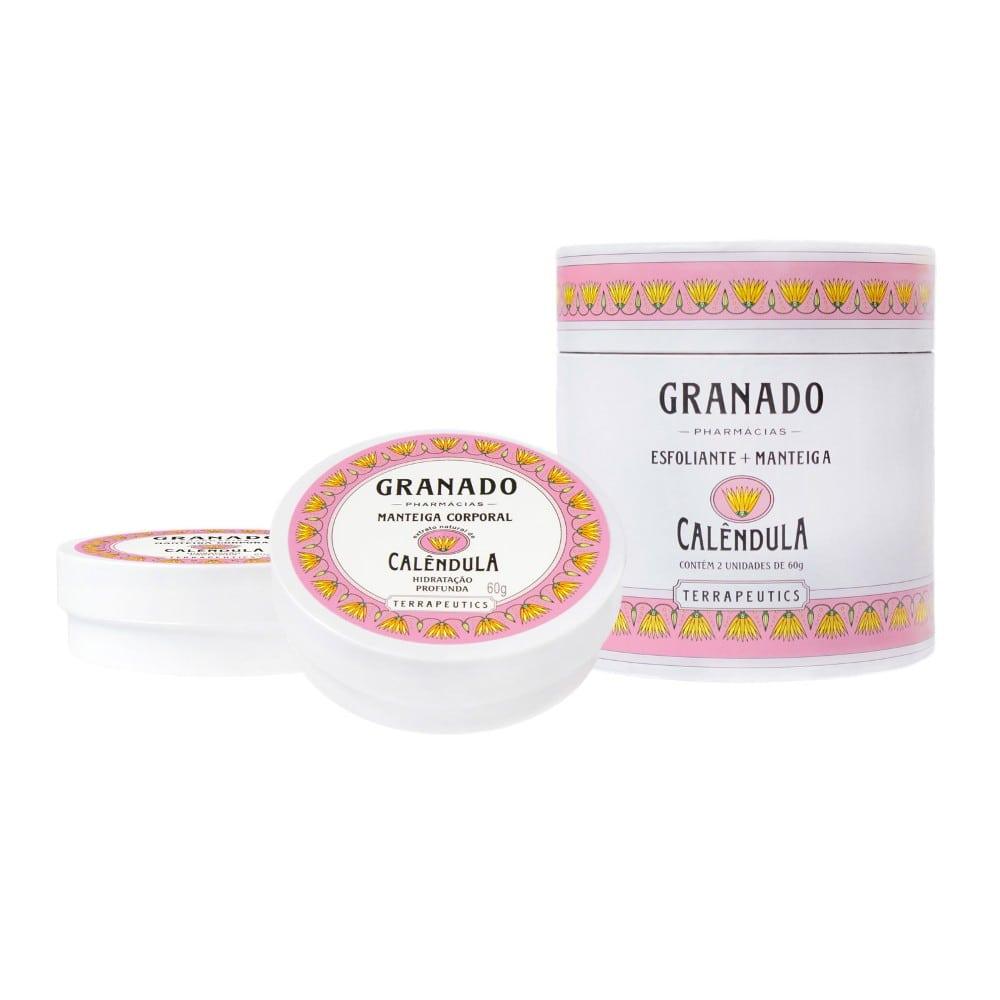Kit Granado Manteiga e Esfoliante Calendula