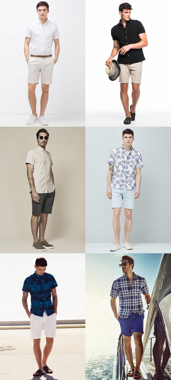 como-combinar-camisa-manga-curta-shorts