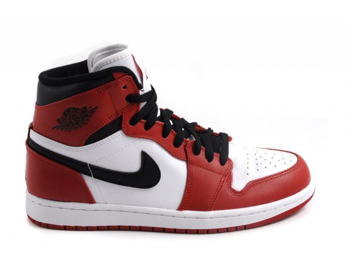 Nike Air Jordan vermelho