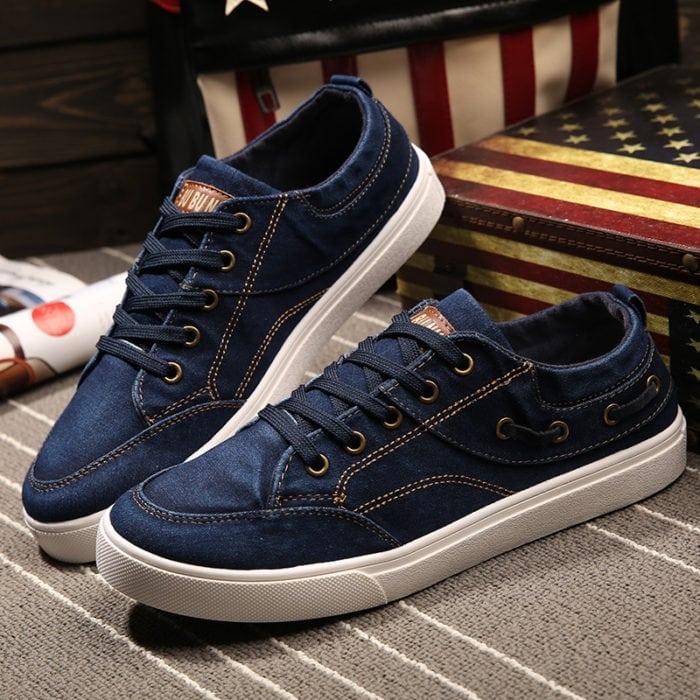 Sneakers jeans azul
