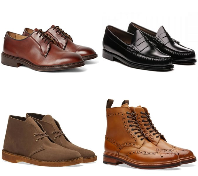 Sapatos masculinhos