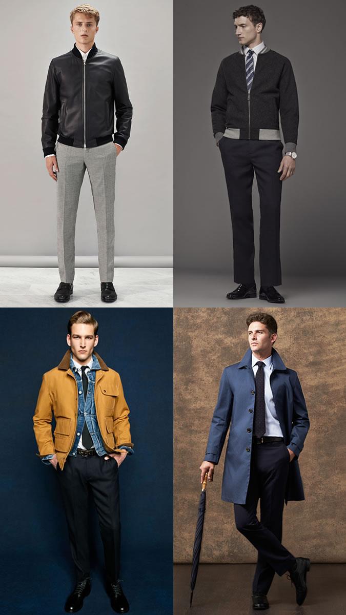 Jaquetas diversas