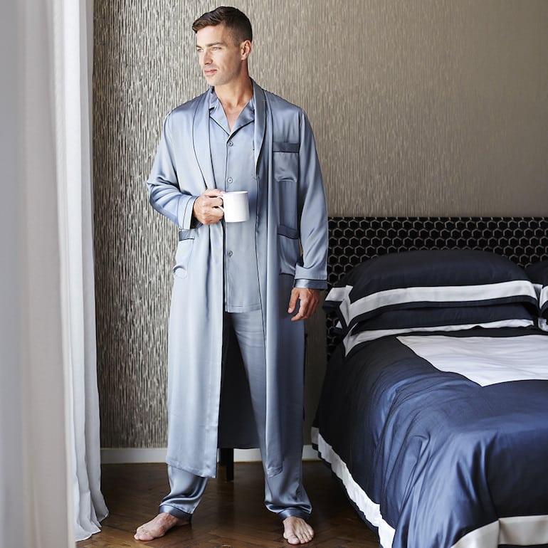Pijama completo com robe