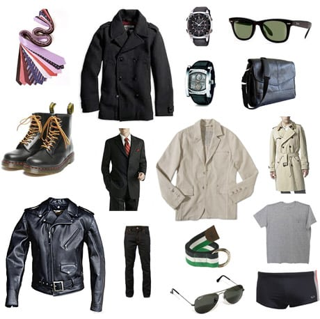 Vestuário masculino