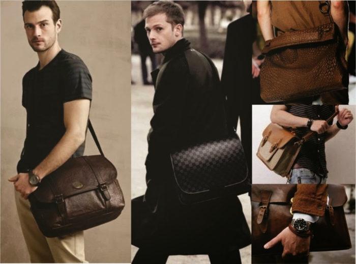 Como combinar Bolsa Tiracolo Masculina e estilo?