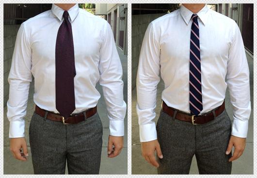 Gravatas compridas