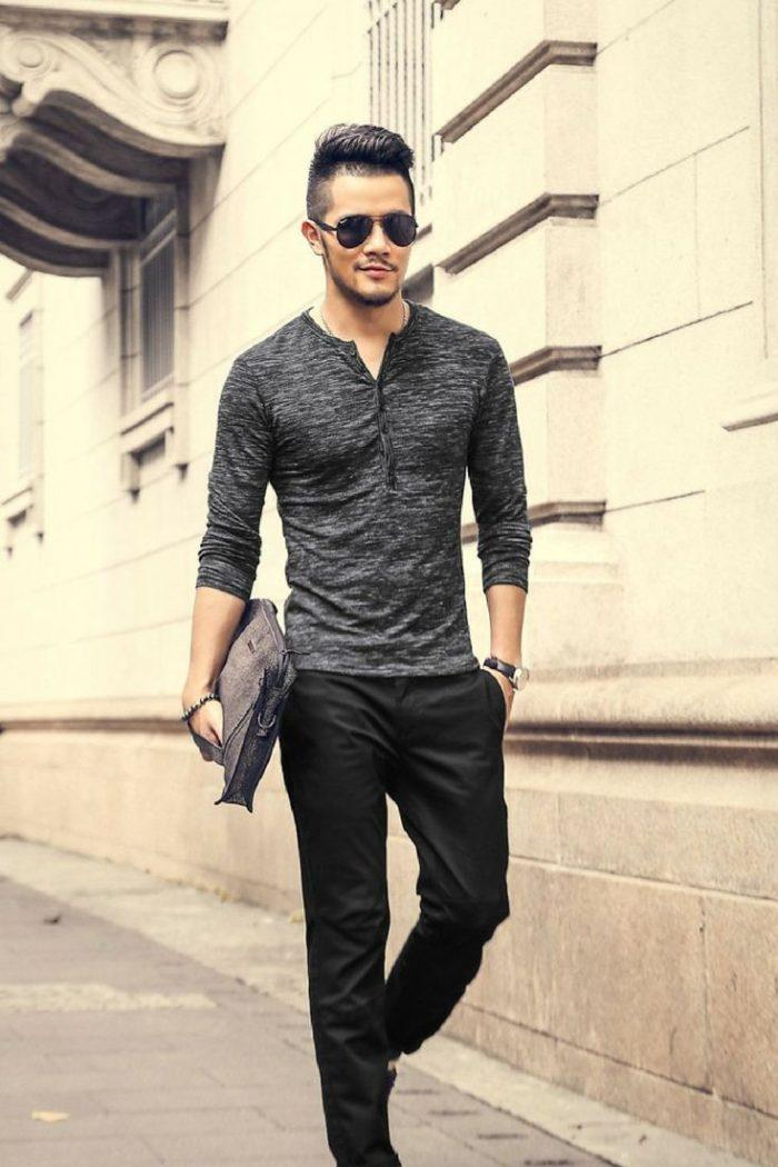 Tenha em mente cada tecido quando considerar a Moda para homens