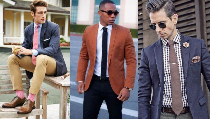 O Traje Esporte tem que ter um blazer ou casaco que seja confortável no corpo