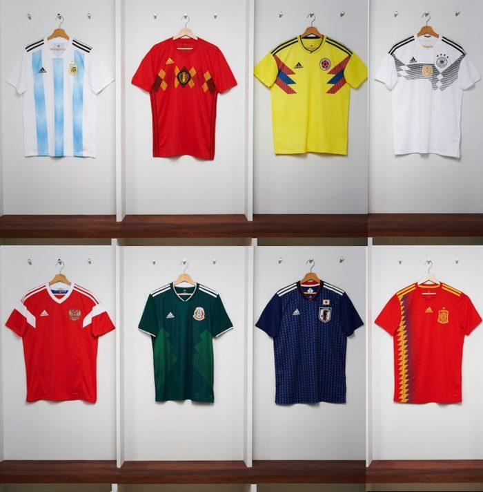 Veja algumas das camisas copa do mundo