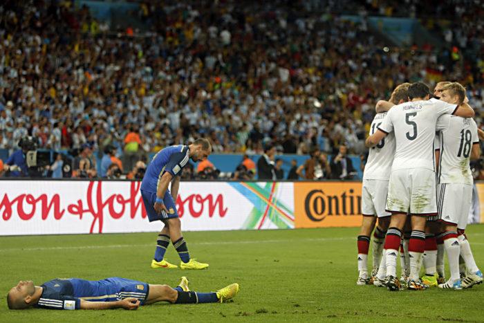 Alemanha e Argentina tiveram Camisas copa do mundo bem clássicas, e ainda assim bem recentes