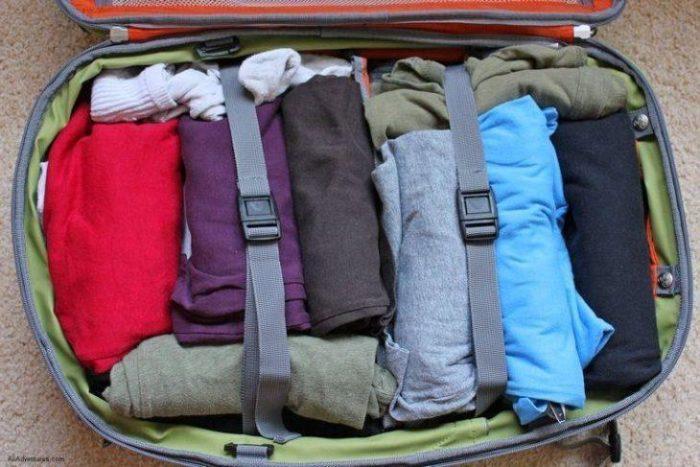 Olha como a Mala de Viagem pode ficar prática com seu guarda-roupa