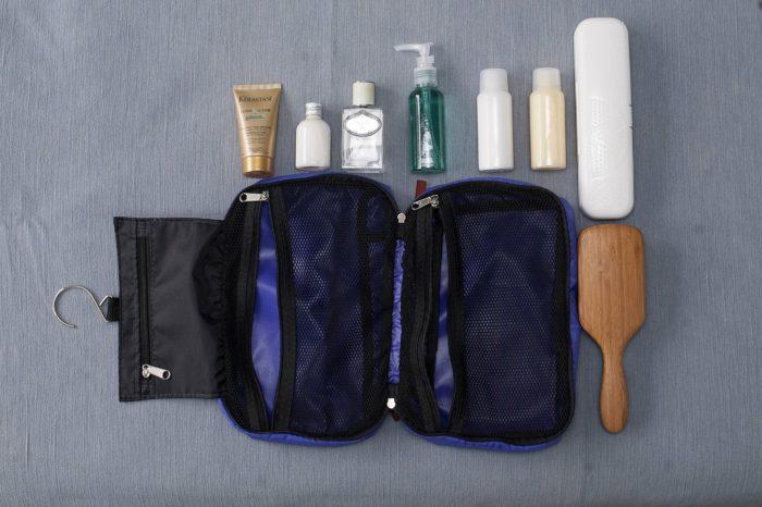 Não esqueça dos itens higiênicos na Mala de Viagem