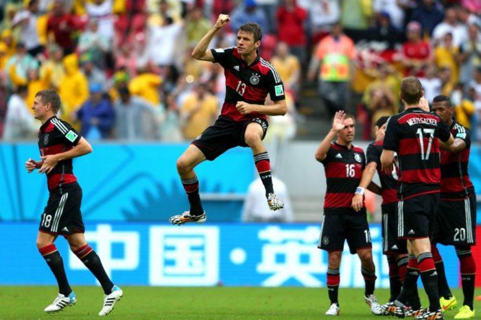 A alemanha foi muito espertar no flamengo em uma das camisas copa do mundo