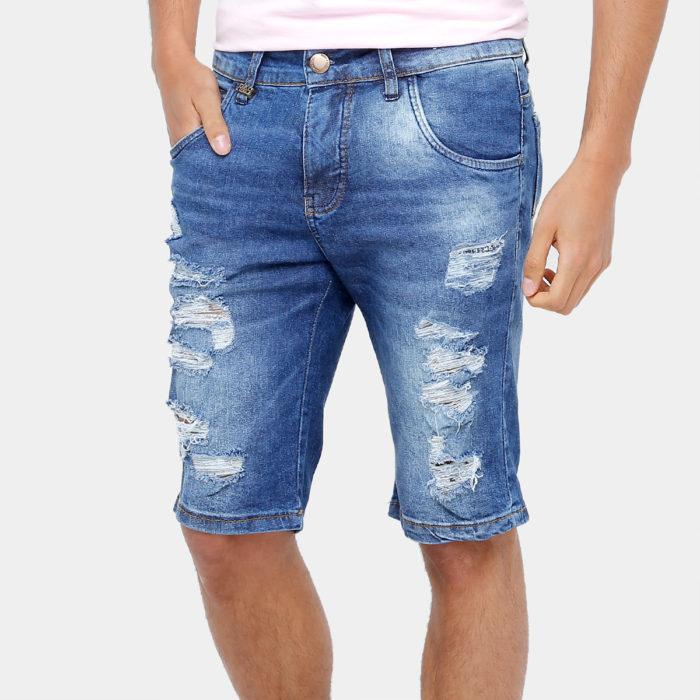 As Bermudas Masculinas jeans são as mais versáteis
