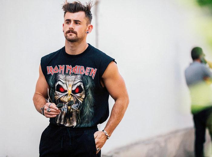 McCallum é uma das Figuras da moda masculina perfeito para caras parrudos