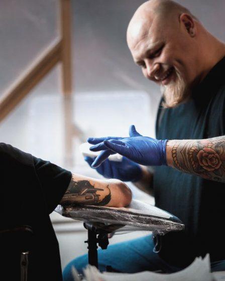 cuidados pós tatuagem