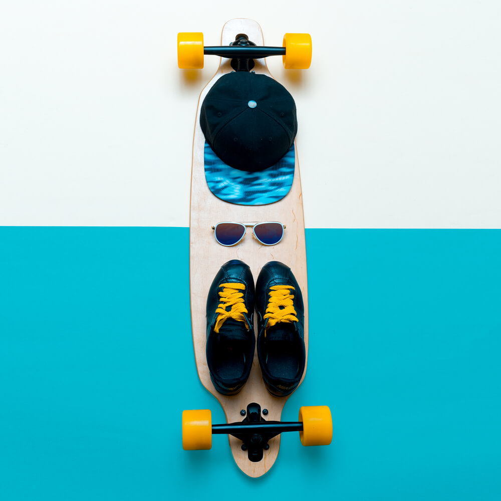 Tênis de skatista