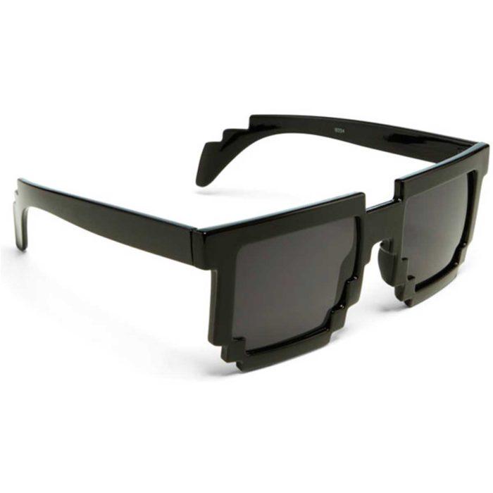 Estilo Geek Masculino óculos 8-bits
