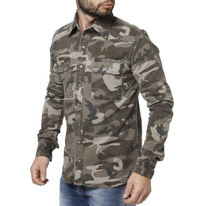 Modelos de Camisas Masculinas camufladas